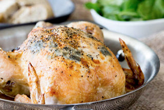 Black Truffle Stuffed Roast Chicken