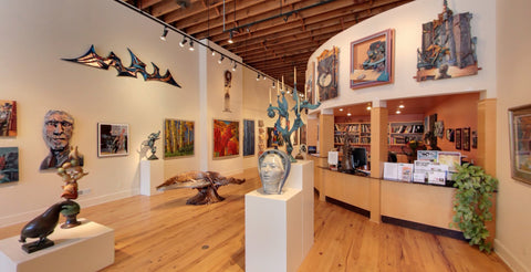 The Art Spirit gallery, CDA, ID, USA