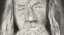 Load image into Gallery viewer, Gandalf  - Pencil Illustration