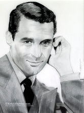Load image into Gallery viewer, Cary Grant - Pencil Illustration