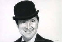 Load image into Gallery viewer, John Steed - Pencil Illustration (Original and prints)