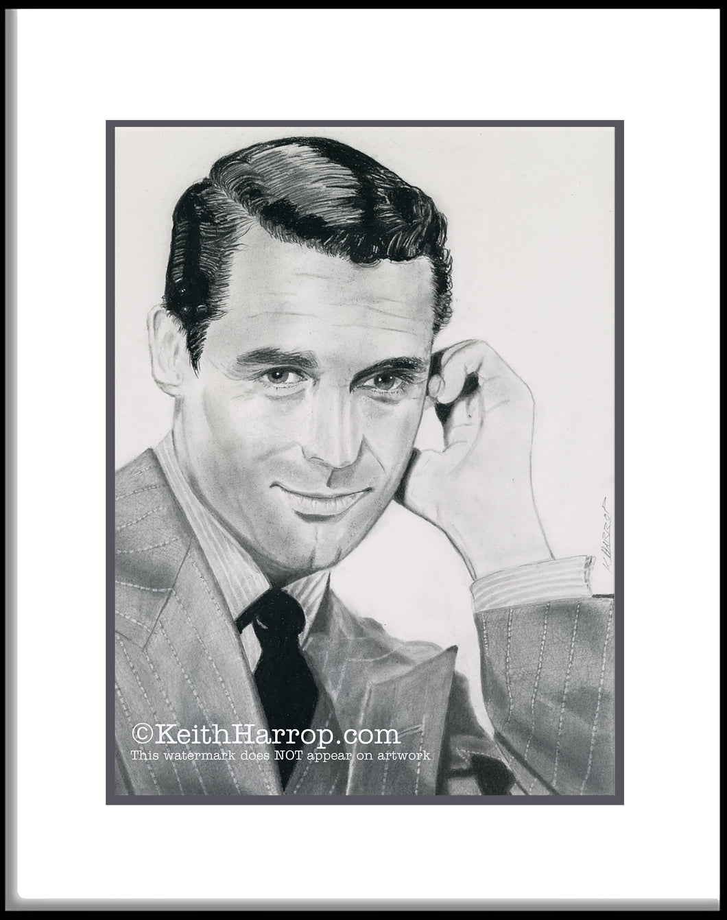 Cary Grant - Pencil Illustration