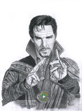 Load image into Gallery viewer, Doctor Strange - Pencil Illustration