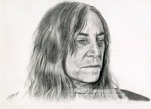 Load image into Gallery viewer, Patti Smith - Pencil Illustration