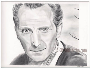 Peter Cushing - Penci Illustration