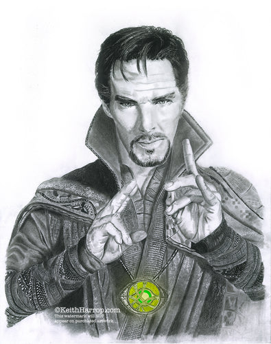 Doctor Strange - Pencil Illustration