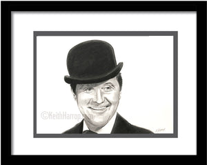 John Steed - Pencil Illustration (Original and prints)