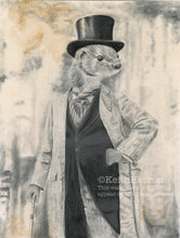 Load image into Gallery viewer, Animorphia #9 (Weasel)  - Pencil Illustration