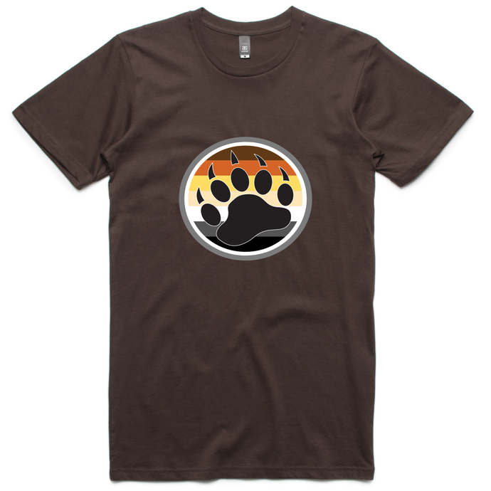 Gay Bear Pride Flag Claw T-Shirt