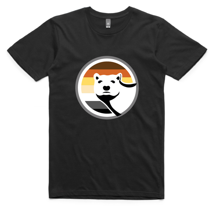 Gay Bear Pride T-Shirt - Black