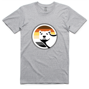 Gay Bear Pride T-Shirt - Grey
