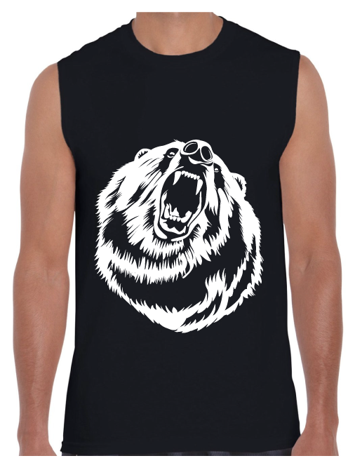 Gay Bear Hear Me Roar Tank Top