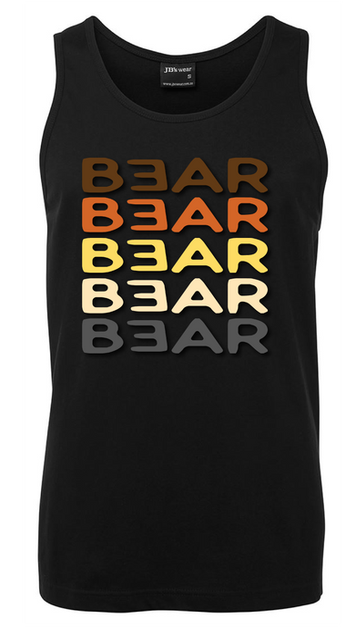 gay bear pride singlet