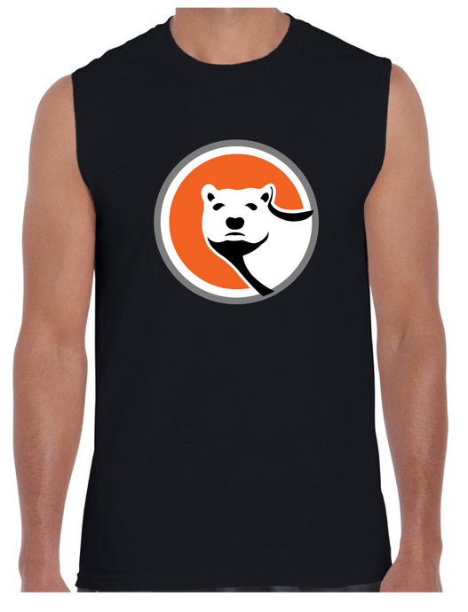 gay bear mens tank top