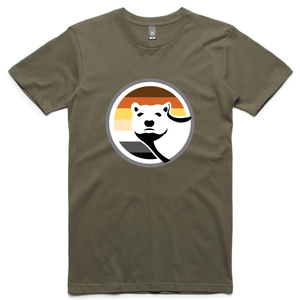 Gay Bear Pride T-Shirt - Army