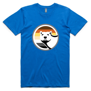 Gay Bear Pride T-Shirt - Bright Royal Blue