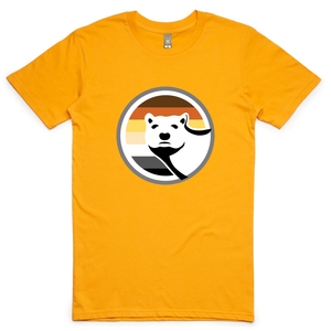 Gay Bear Pride T-Shirt - Gold
