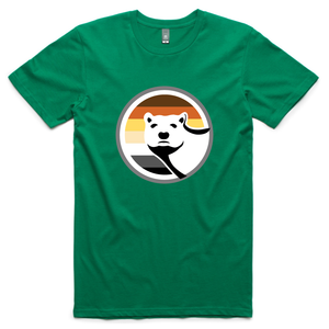 Gay Bear Pride T-Shirt - Kelly Green