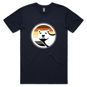 Gay Bear Pride T-Shirt - Navy