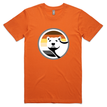 Gay Bear Pride T-Shirt - Orange