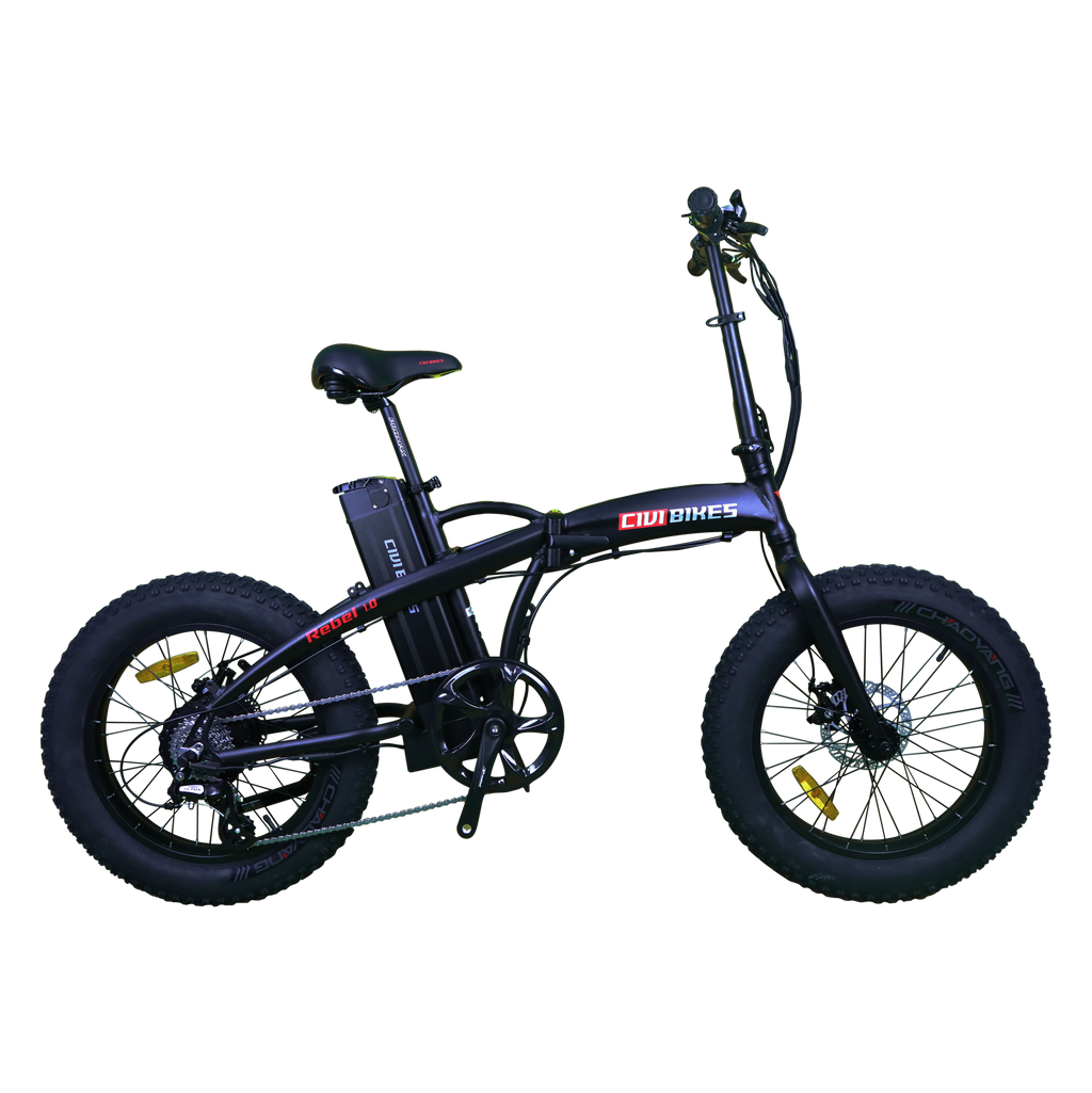 Civi Electric Folding Bike Fat Tire