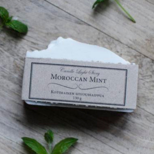 CANDLE LIGHT STORY SIIVOUSSAIPPUA MOROCCAN MINT