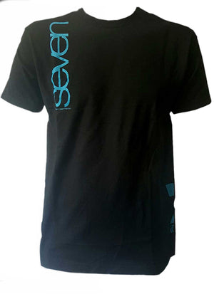 7 iDP Logo Tee Shirt Black