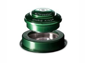 "Chris King Inset™ 2 Headset - 1.1/8"" - 1.5"" - Green"