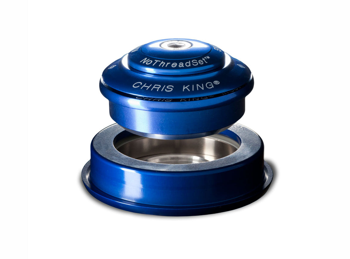 "Chris King Inset™ 2 Headset - 1.1/8"" - 1.5"" - Navy"