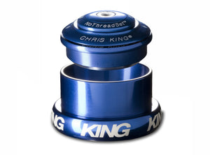 "Chris King Inset™ 3 Headset - 1.1/8"" - 1.5"" - Navy"