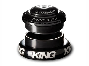 "Chris King Inset™ 7 Headset - 1.1/8"" - 1.5"" - Black"