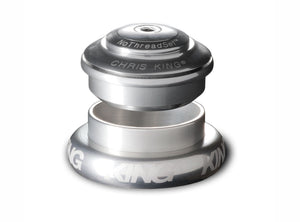 "Chris King Inset™ 7 Headset - 1.1/8"" - 1.5"" - Silver"