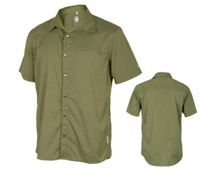 Club Ride Vibe Shirt - Olive Stripe