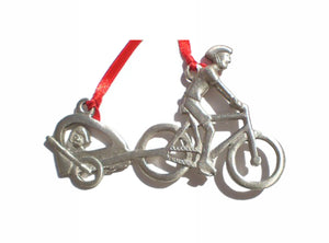 Creatively Yours Bike & Trailer Ornament