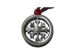 Creatively Yours Fat Tire Snowflake Ornament