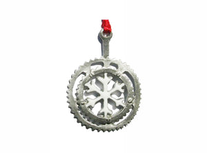 Creatively Yours Snowflake Crank Ornament