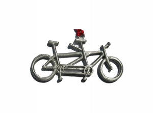 Creatively Yours Tandem Bike Ornament