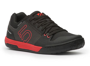 Five Ten Freerider Contact Flat Pedal Shoes - Black/Red