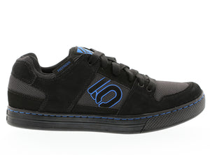 Five Ten Freerider Flat Pedal Shoes - Black/Shock Blue