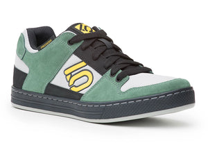 Five Ten Freerider Flat Pedal Shoes - Green/Grey