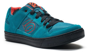 Five Ten Freerider Flat Pedal Shoes - Teal/Grenadine