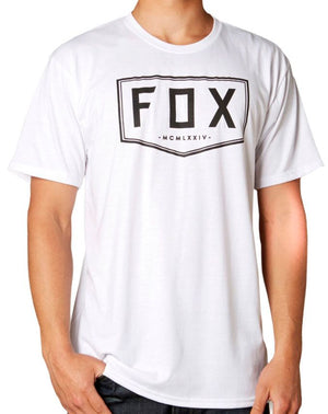 Fox Racing Coverted Tech Tee - White