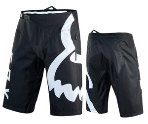 Fox Racing Demo Shorts - Black-White