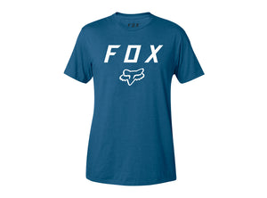 Fox Racing Legacy Moth Short Sleeve Tee - Dusty Blue
