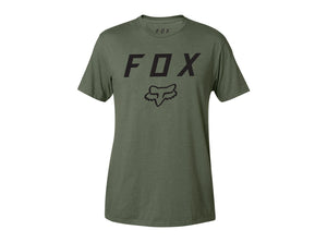 Fox Racing Legacy Moth Short Sleeve Tee - Fatigue Green