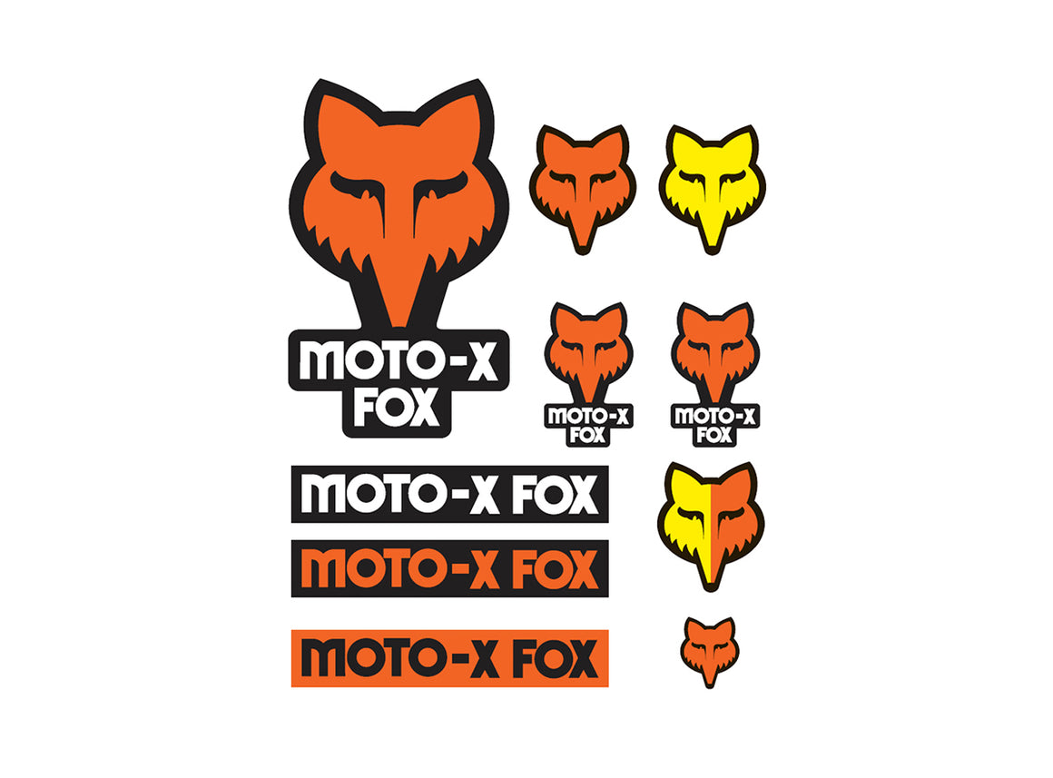 Fox Racing Track Sticker Pack