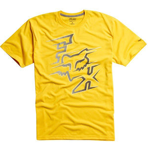 Fox Racing Voltcano Tech Tee - Yellow