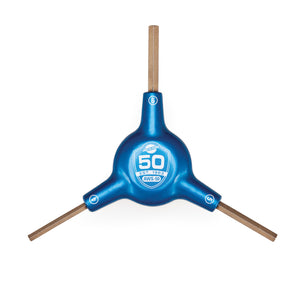 Park Tool 50th Anniversary 3-Way Hex Wrench AWS-50