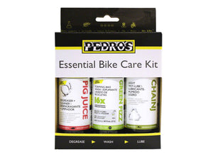 Pedros Essential Bike Care Kit