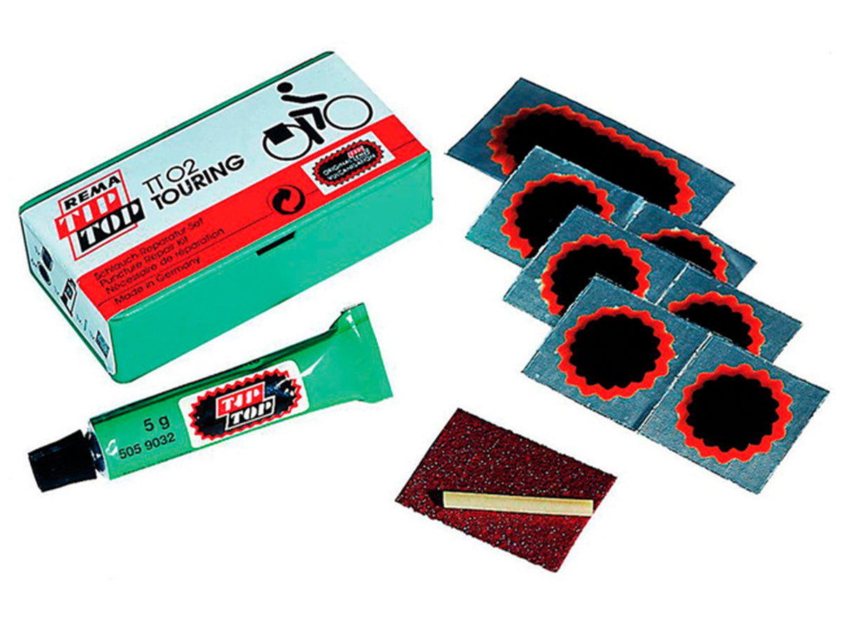 Rema Tip Top Repair Kit Pieces Patches Air tt02 touring bike